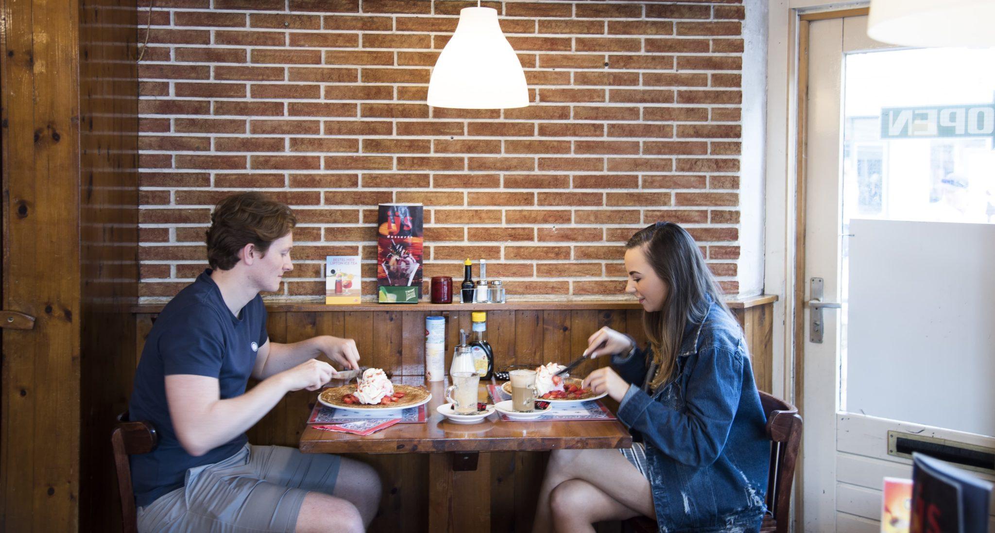 Romantic Dining Romatisch dineren Couple koppel Amsterdam